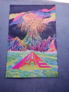 VINTAGE BLACKLIGHT poster 1970S RARE PRE OWNED