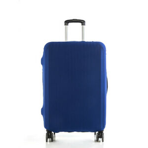 Travel Luggage Cover Protector Elastic Suitcase Dust-Proof Pure Color