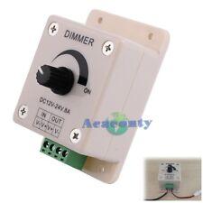 LED Dimmer PWM 12V-24V 8A Regler Helligkeitsregler Licht Strip Controller【DE】