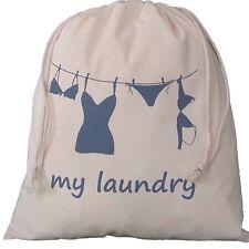 Travel Laundry Bag Drawstring,underwear,lingerie,washing wash holiday small