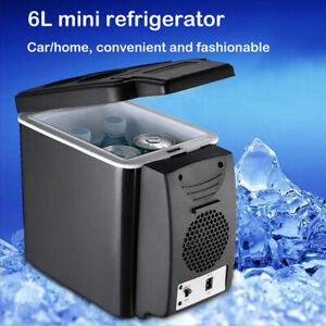 6L12V Mini Fridge Car Refrigerator Compressor Freezer Cooler Ice Picnic Camping