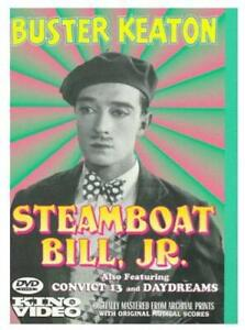 Steamboat Bill, Jr. [DVD] [US Import] - DVD  50VG The Cheap Fast Free Post
