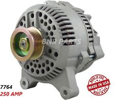 250 AMP 7764 Alternator Ford Lincoln Mercury High Output HD Performance USA NEW