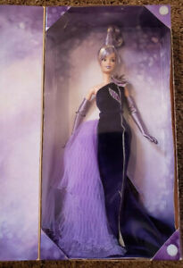 2001 Bob Mackie The Sterling Silver Rose Barbie Avon Exclusive Collector Edition