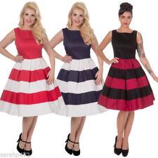 Scoop Neck Dresses for Women's 1950s