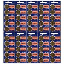 50 NEW SONY CR2025 3V Lithium Coin Battery Expire 2027 FRESHLY NEW - USA Seller