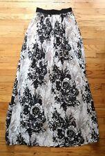 ABS Allen Schwartz MAXI LONG Formal Skirt 6 NWT floral prom party wedding guest
