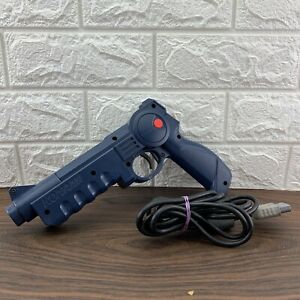Guncon Konami Justifier Light Gun For PS1 PS2 Playstation Cleaned & Tested NICE
