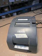 ERROR NO PRINT - EPSON TM-U220B M188B ETHERNET RJ-45 Ticket POS Printer EXCL PSU