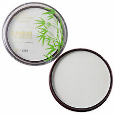 Constance Carroll Bamboo Powder with Silk - White Transparent Mattifying Compact