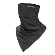 RockBros Summer Sports Triangle scarf Ice Fabric Neck Warmer Headband Dark Gray