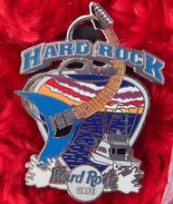 Hard Rock Cafe Pin Online SPORT FISHING BOAT guitar charter sunset guitar pick