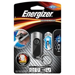 Energizer LED 20 Lumens Touch Screen Keychain Keyring Light Torch