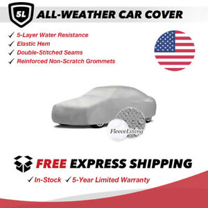 All-Weather Car Cover for 1980 Fiat 124 Convertible 2-Door