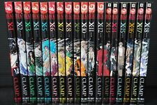 JAPAN Clamp manga LOT: X vol.1~18 Set