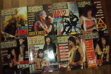Lotto HM  (La 1° rivista italiana heavy metal rock)