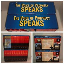 THE VOICE OF PROPHECY SPEAKS Lonnie Melashenko VHS Set 5-26 7th Day Adventist