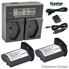 LP-E4 Battery&Charger for Canon EOS-1D C,1D Mark III,1Ds Mark III,EOS-1D Mark IV