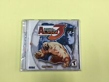 Sega Dreamcast Street Fighter Alpha 3 -BRAND NEW,FACTORY SEALED-
