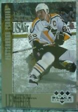 Mario Lemieux 1996-97 Black Diamond Triple SSP #166 Pittsburgh Penguins