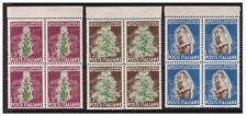 ITALIA 1950  -  TABACCO  SERIE  NUOVA QUARTINA  **