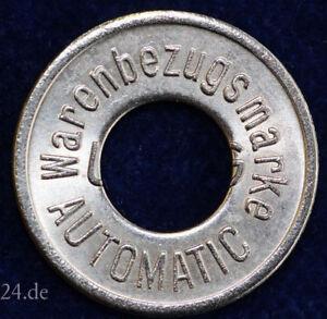 old German Token Warenbezugsmarke Automatic Automatenmünze Spielautomatenmünze