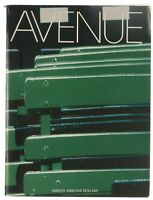 AVENUE Magazine March 1988 Exclusive Vintage RARE (Fashion, News, Food & More)