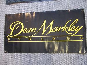 Dean Markley 1990's Dealer Banner