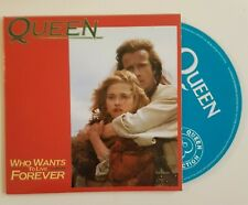 QUEEN (CD): WHO WANTS TO LIVE FOREVER (+ PIANO VERSION) highlander movie