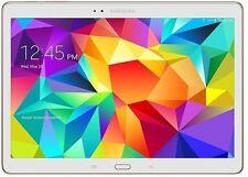 """Samsung Galaxy TAB S 10.5"""", 1.9GHz Octa-Core, 16GB, 4G, Wi-Fi, White, SM-T805Y"""