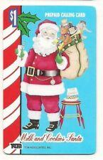 VINTAGE PREPAID CALLING CARDS SANTA CLAUS