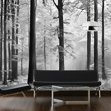 Home Decoration Decal Wall Sticker Forest Grey Life Home Mural 366cm x 254cm