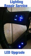 GM Silverado Tahoe Steering Wheel Radio Control Button REPAIR SERVICE w/ LED!