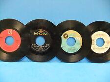 Hank Williams Jr. 45 LOT Kaw-Liga Long Gone Lonesome Eleven Roses When Something