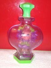 Vintage Liddle Kiddle Kologne Violet With Bottle & Stand