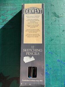 8 x Derwent Sketching Pencils HB BNIB