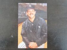 1985 Tcma New York Yankees Bob Shirley Postcard
