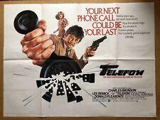 Telefon - Original British UK Quad Cinema Movie Poster - Charles Bronson