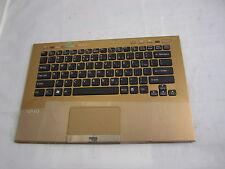 Sony PCG-41219V VPCSC31FM Tastatur mit Rahmen Touchpad USA P/N: 9Z.N6BBF.01D