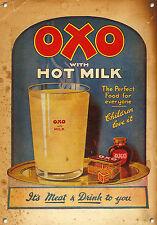 OXO, Stile Vintage, Segnale metallico, Da collezione, Smaltata, No.602