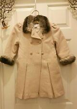 Marshall Fields Girls 3T coat hat muff classic wool dressy outerwear Vintage #C