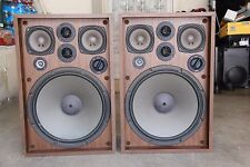 Vintage Kenwood KL-777A 4 Way 6 Speakers Cabinets 110watts
