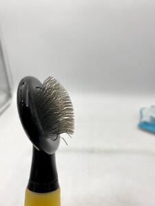 ConairPro Dog Memory Gel Grip Slicker Brush Small Pet Grooming, USED