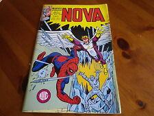NOVA n° 15 de 1979 - SPIDER MAN - SURFER D'ARGENT - L'HOMME SABLE comme neuf.