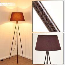 Lampadaire Retro Éclairage de salon Lampe de lecture Lampe sur pied Métal/Tissu