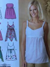 Simplicity Sewing Pattern 4127 Ladies Misses Top Size 12-20 Uncut