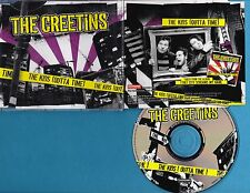THE CREETINS Kids (Outta Time) 1tr Roadrunner Records ‎RR PROMO 954 CD Punk Rock