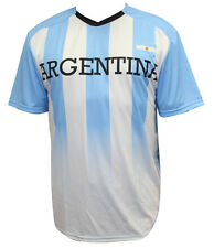 World Cup Soccer Argentina Federation Youth Jersey Short Sleeve Tee M
