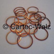 10 STÜCK Kupferringe Dichtringe Dichtungen Cu 38x44x2,0 mm DIN 7603 Form A