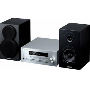 YAMAHA PianoCraft MCR-N470D DAB+ CD Stereoanlage WLAN Bluetooth silber B-WARE